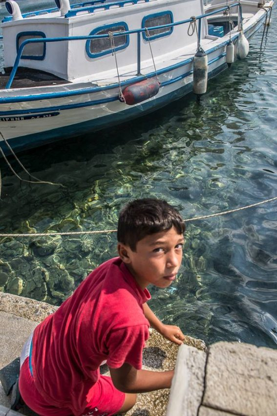 Greece's economic crisis have left the children of Skiathos with very little future. Photo by Marina Pascucci