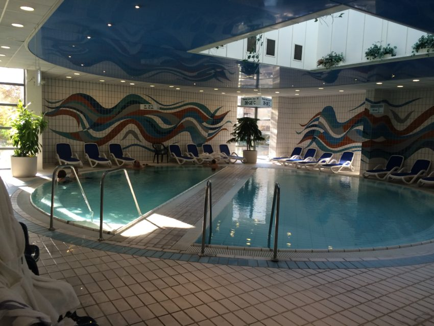 The Danubias Jacuzzi. Budapest sits atop a fault of 123 thermal and 400 mineral springs.