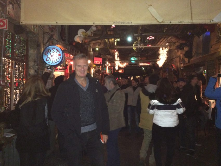 "Szimpla Kert is one of the many ""ruin"" bars popping up around Budapest."