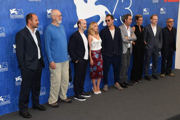 The cast at the Venice Film Festival.