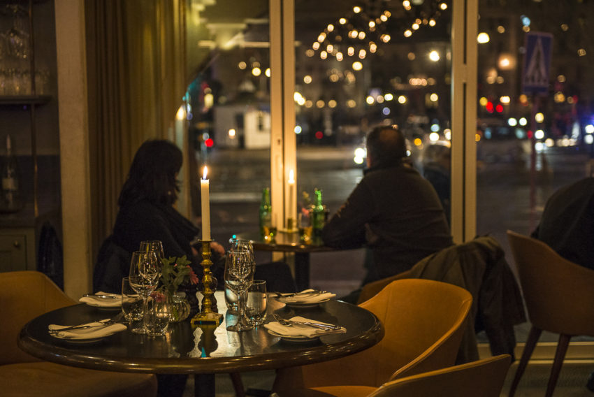 Stockholm is one of the most romantic cities in Europe. Being dark for 17 hours in winter doesn't hurt. Photo by Marina Pascucci