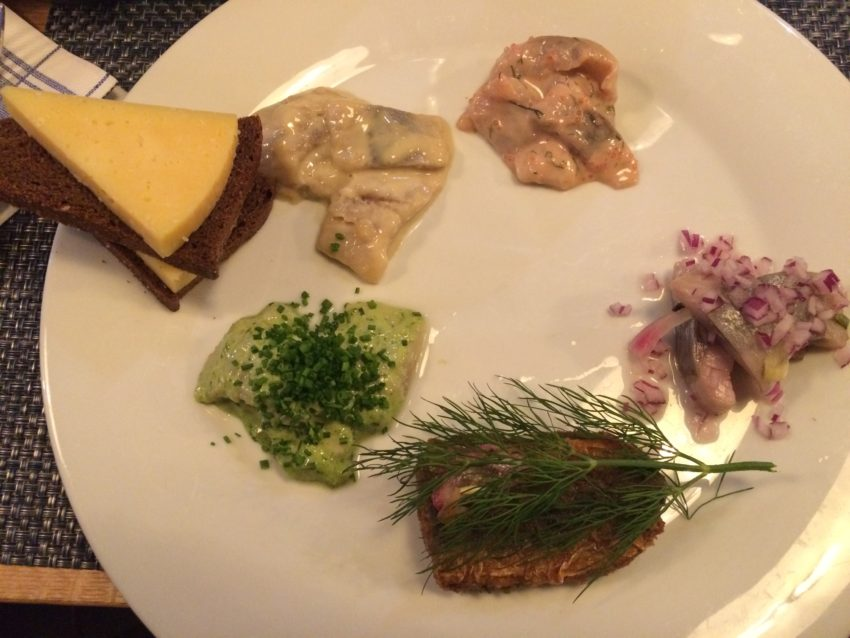 The Herring Sampler