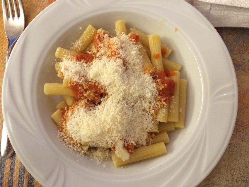 Pre-game pasta