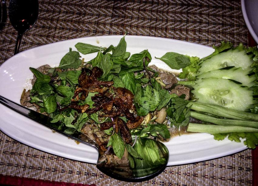 Laab at Lao Kitchen.