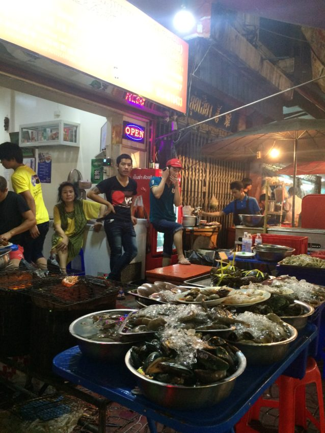 Chinatown seafood.