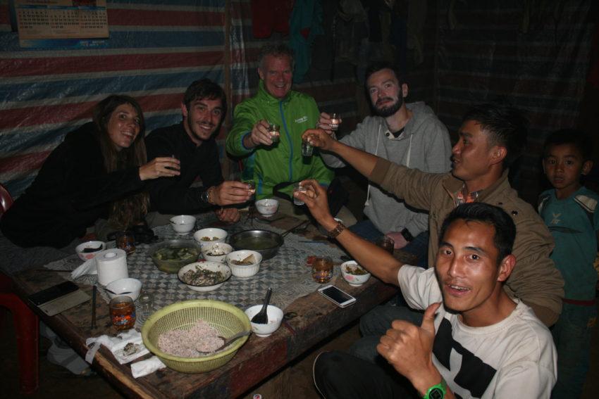 A lao-lao toast in Peryenxang