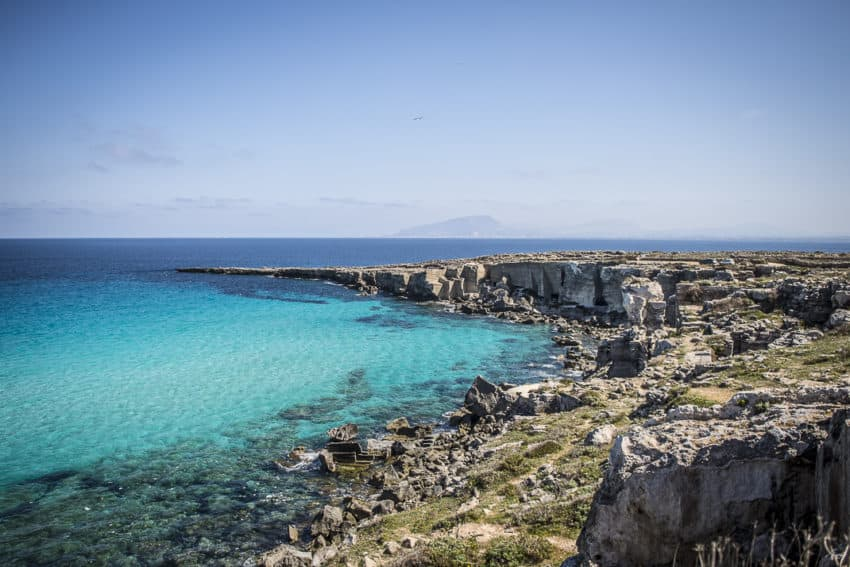 he Weather Channel ranked Favignana's waters as the 13th bluest in the world.