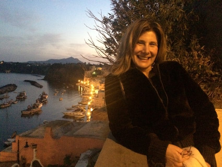 A night out in Procida.