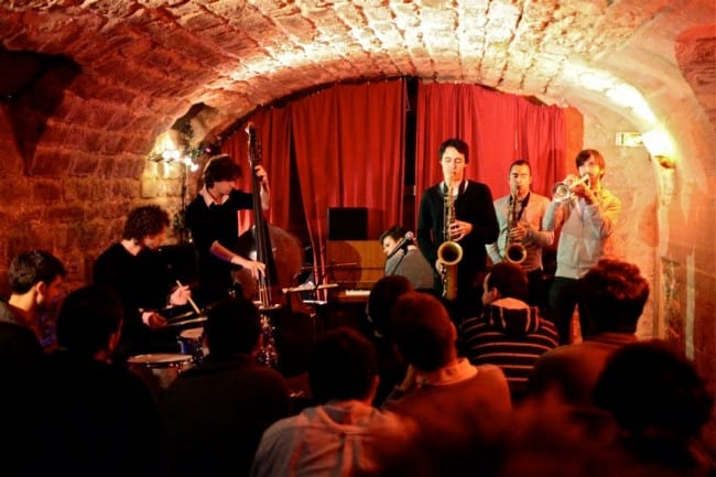 Paris is sprinkled with jazz clubs.