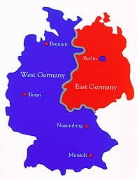 Germany from 1945-90.
