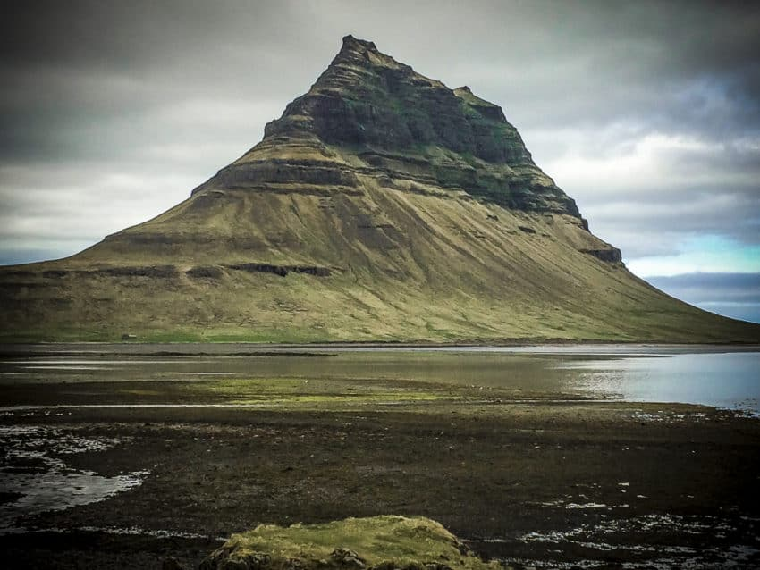 "Kirkjufell in West Iceland was featured in ""The Secret Life of Walter Mitty."""