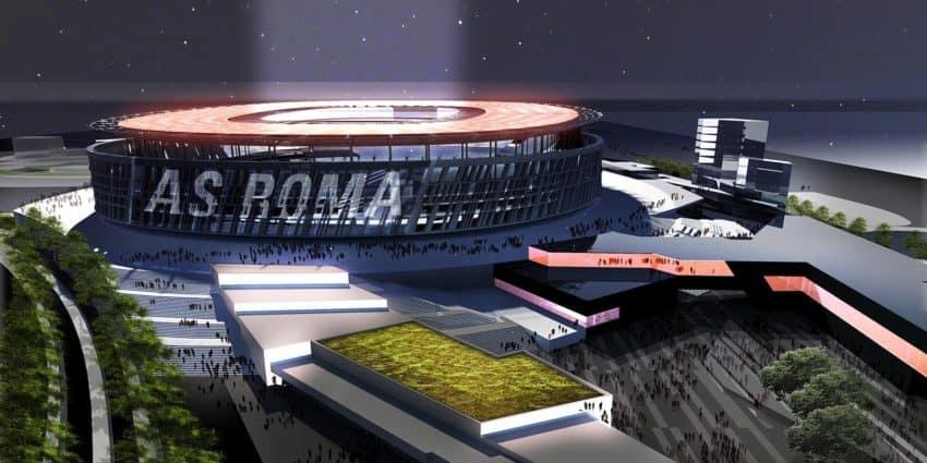 A.S. Roma's proposed 1.5 billion euro stadium.