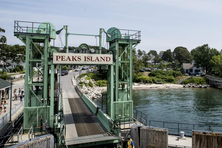 Peaks Island is a 20-minute ferry ride from Portland. Photo by Marina Pascucci