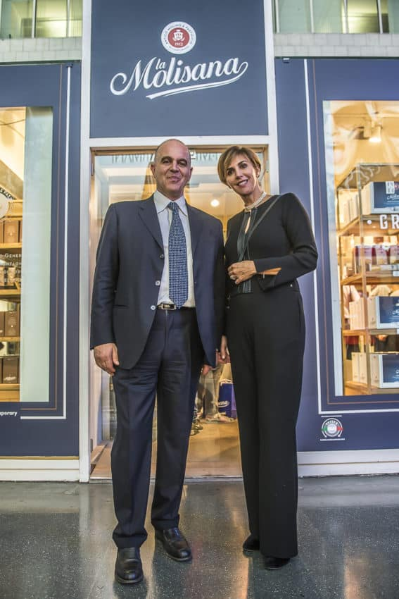 Owner Giuseppe Ferro and marketing director Rossella Ferro. Photo by Marina Pascucci
