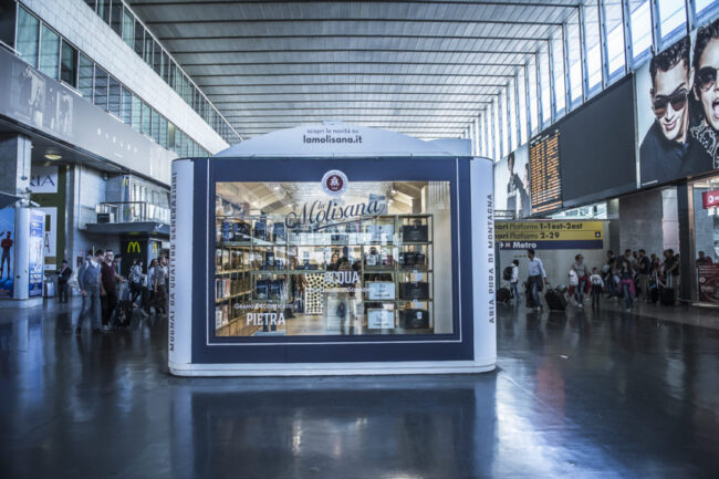 La Molisana opened a shop in Termini train station and will close Nov. 12. Photo by Marina Pascucci