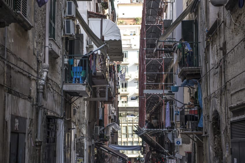 The Spanish Quarters has been Naples' most notorious neighborhood for 400 years. Photo by Marina Pascucci