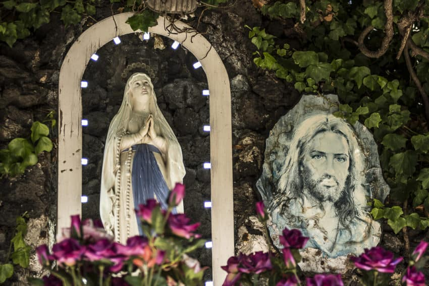 Religion still plays a big role in Naples. Photo by Marina Pascucci
