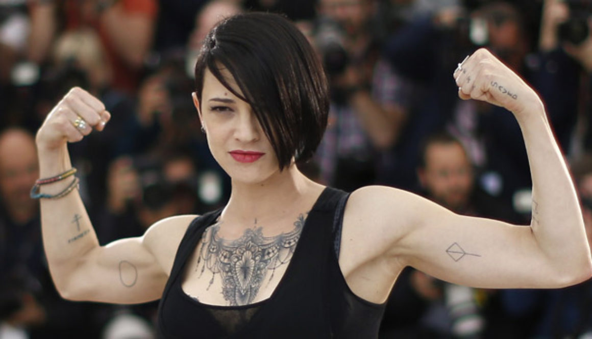Italian actress Asia Argento came forward against Harvey Weinstein and the Italian media attacked her. Photo Misunderstood