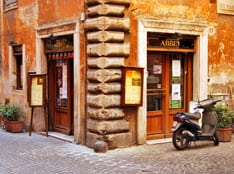 Abbey Theatre Irish pub, my home away from home in Rome.