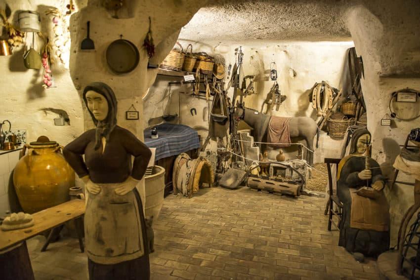 Replica cave home. Photo by Marina Pascucci