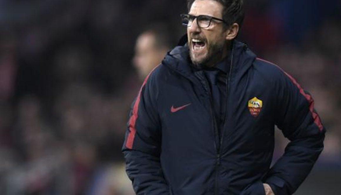 New coach Eusebio Di Francesco has made AS Roma one of the surprise teams in Europe.