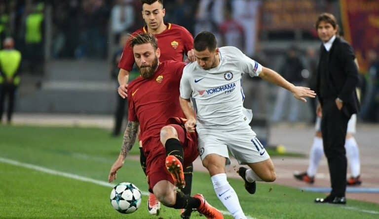Roma's 3-0 rout of Chelsea in Rome woke up the Champions League.
