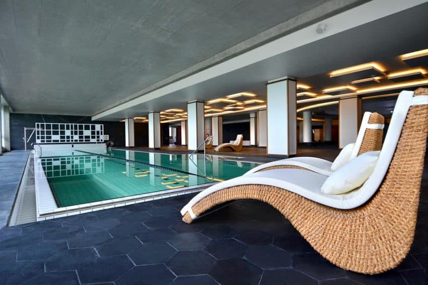 The lap pool at Vytautas Mineral Spa. Photo by Booking.com
