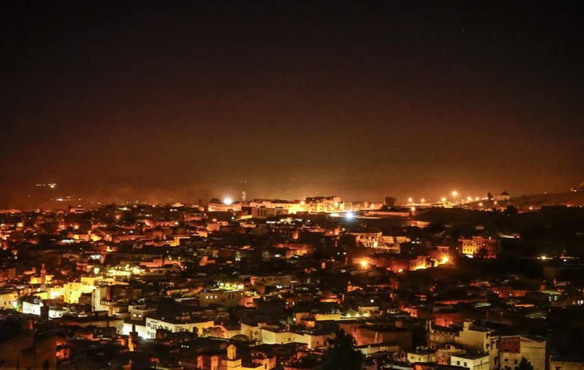 Fez at night. Photo by Marina Pascucci