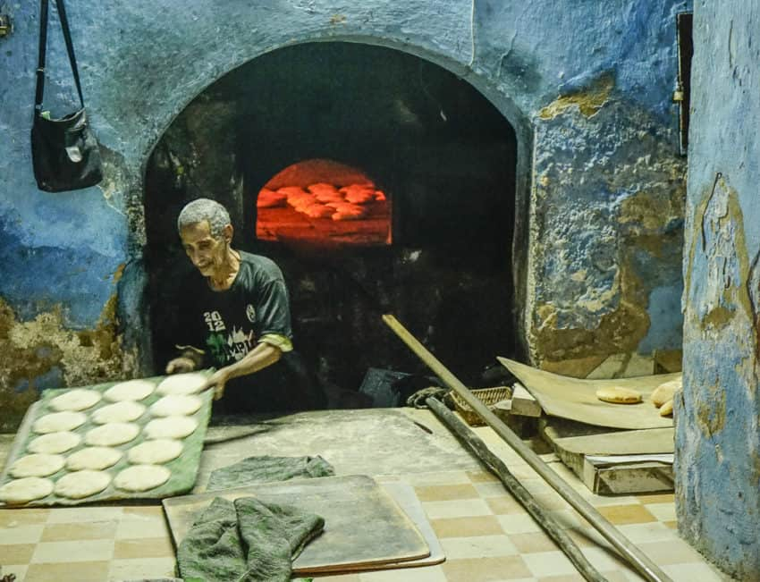 Moroccan bread is fantastic and dirt cheap. Photo by Marina Pascucci