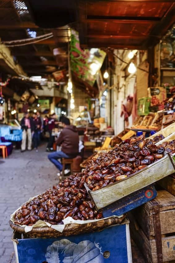 Dates in the medina. Photo by Marina Pascucci