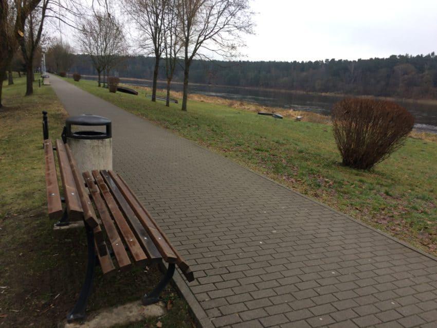 The river walk in Birstonas.