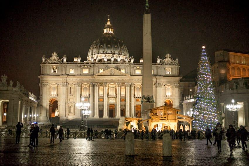 Bernini designed St. Peter's Square in the 17th century.