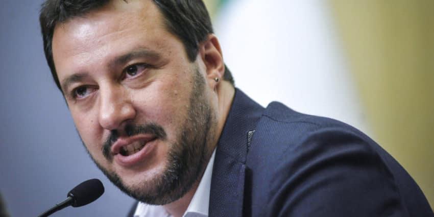 Matteo Salvini. Photo by Terzo Binario News