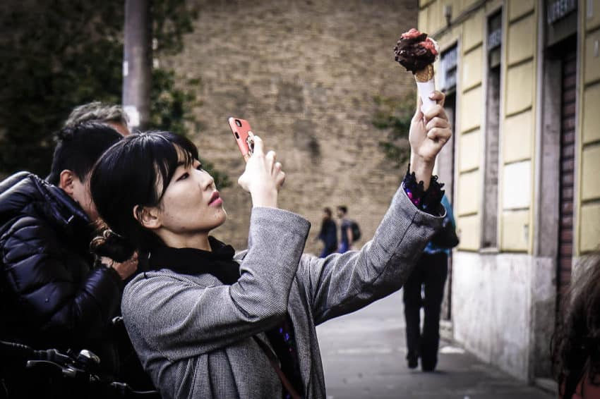 Gelato doesn't travel well so one must come to Italy to taste the real deal. Photo by Marina Pascucci
