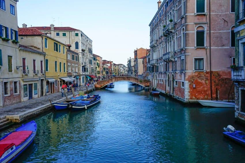 Despite the crowds, it's easy to find quiet, narrow canals. Photo by Marina Pascucci