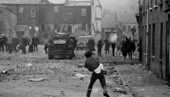From 1969-99 the Troubles claimed 3,500 lives. Belfast Child photo