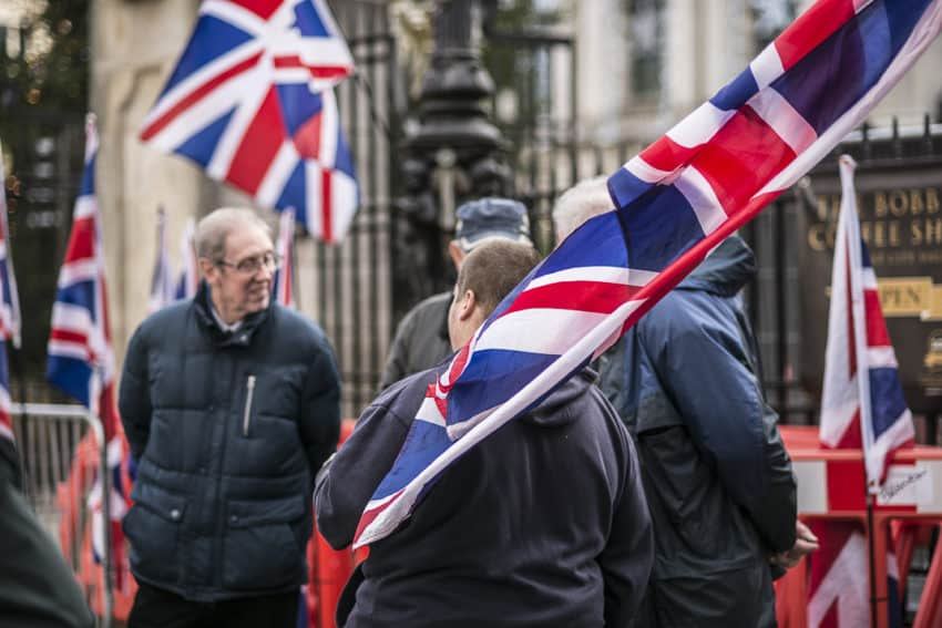 Northern Ireland's unionists say they are British and not Irish. Photo by Marina Pascucci