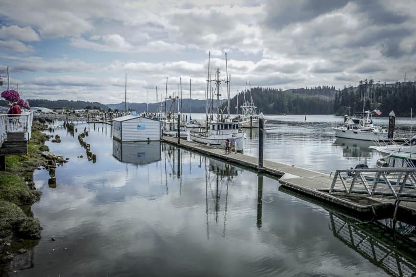 The Siuslaw River in Florence. Photo by Marina Pascucci