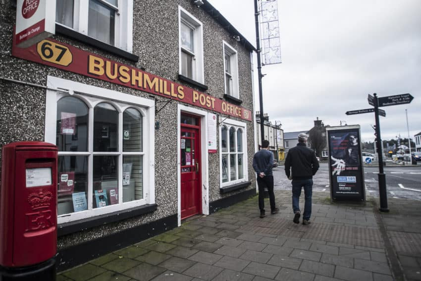 Bushmills is home to the famous Bushmills whisky. Photo by Marina Pascucci