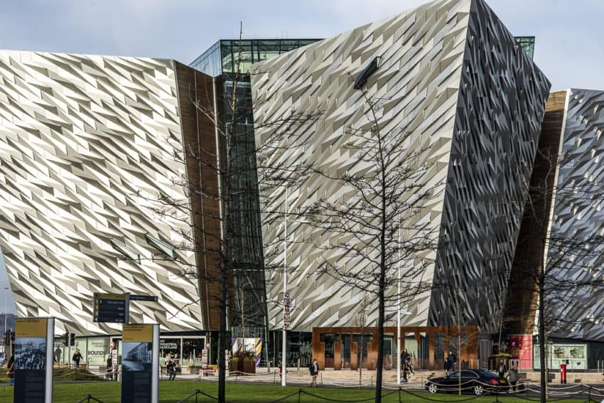 Built in 2012, the Titanic Museum is one of the many of Belfast's new draws. Photo by Marina Pascucci