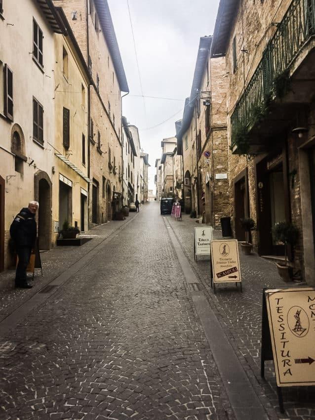 Corso Goffredo Mameli in Montefalco.