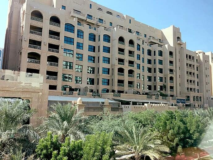 Homes, like this apartment house on the Palm, are surprisingly affordable in Dubai.