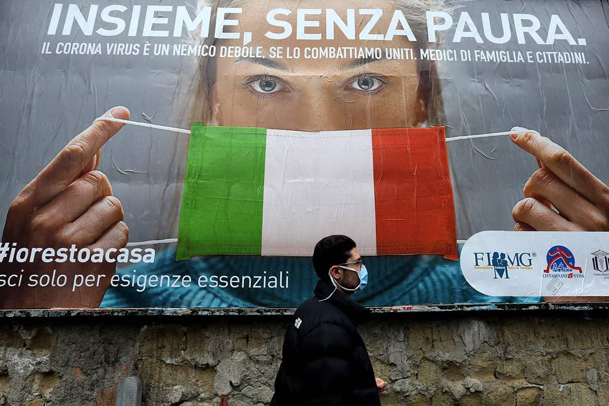 Coronavirus in Italy: Some improvement but death still haunts