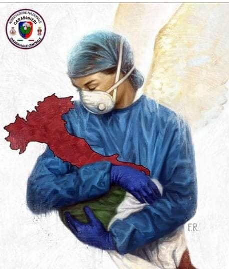 In virus-torn Italy, misery loves company but our suffering is soothed with pride