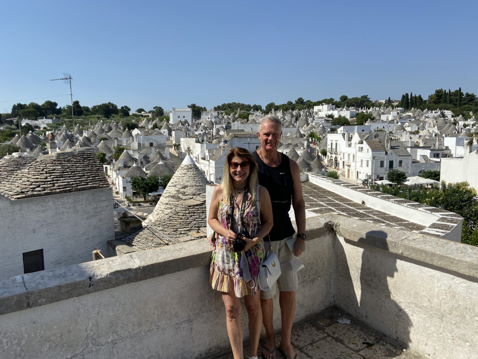 We beat the mob for the ubiquitous shot above the trulli.