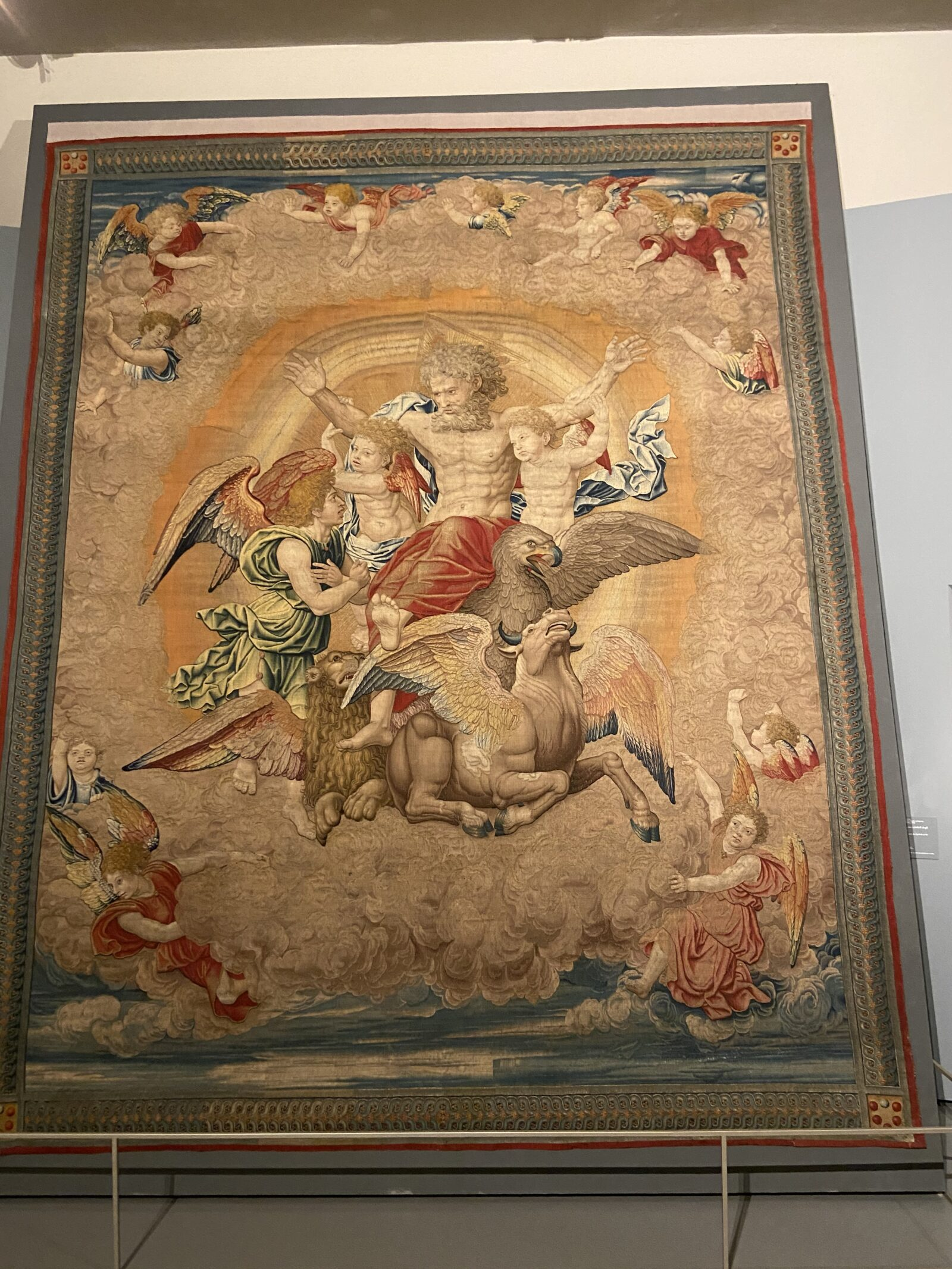 Raphael also did tapestries.