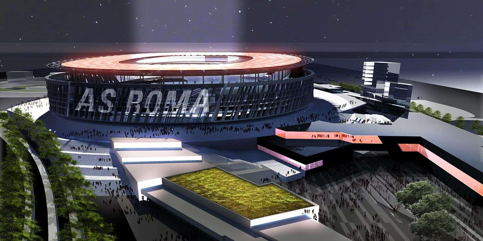 A.S. Roma's proposed $1.5 billion euro stadium has been in the works for eight years.