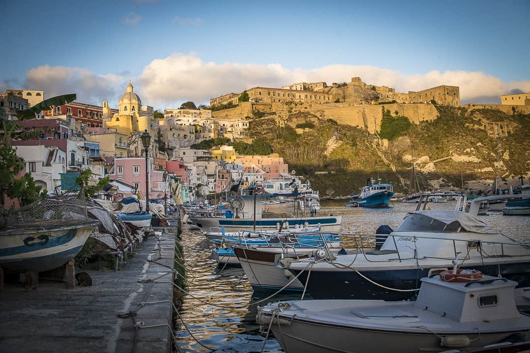 Procida's prison in paradise: Palazzo d'Avalos still hovers over island after 150 years of jailing mafiosi, fascists and worse