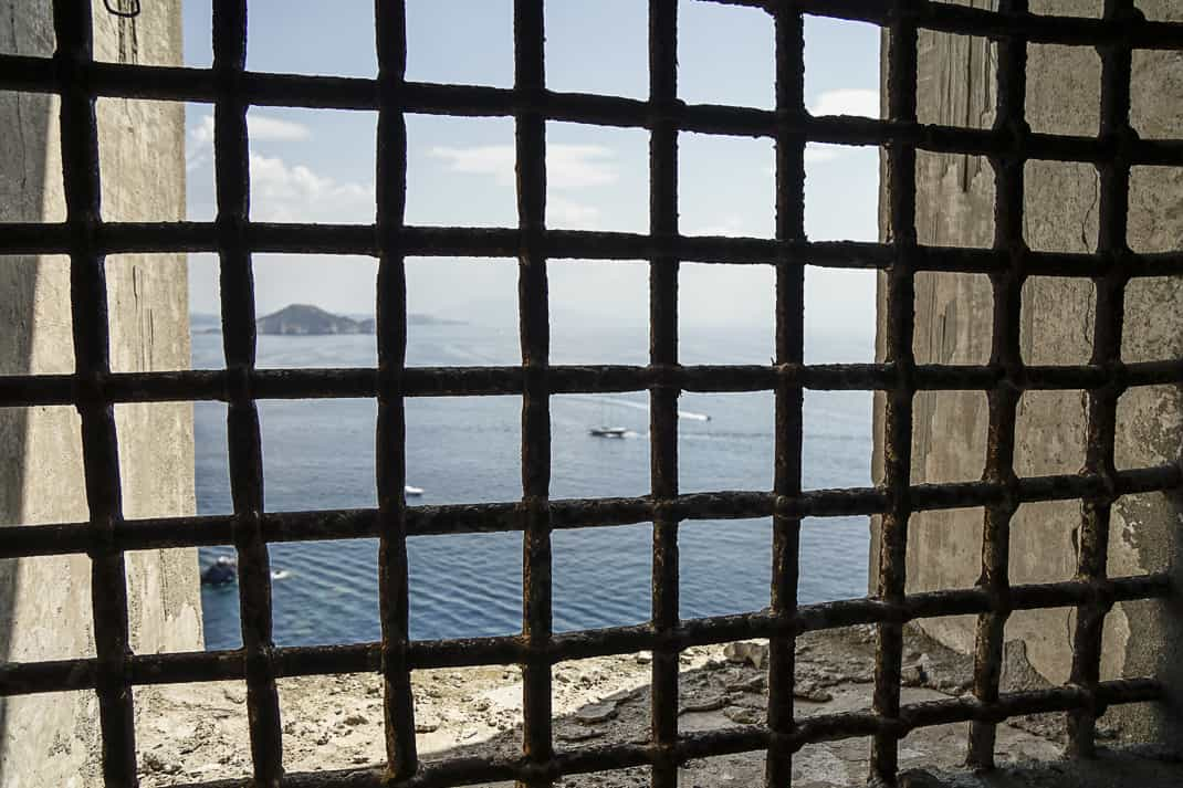 The view from a prison cell