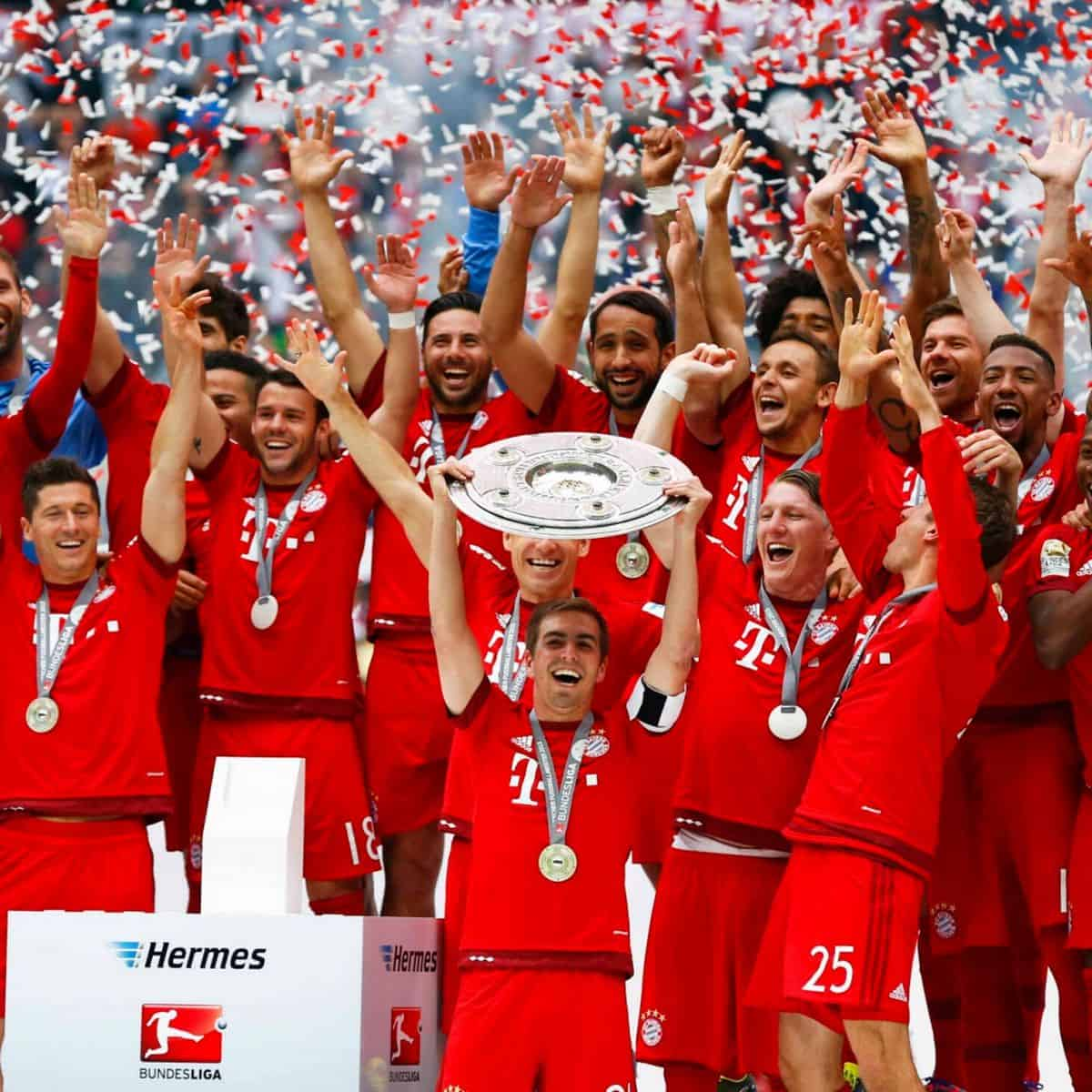 Bayern Munich has won eight straight Bundesligas.